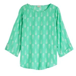 Pixley Ellie Printed 3/4 Sleeve Blouse
